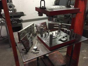 Custom Industrial Forming Tool Rebuild