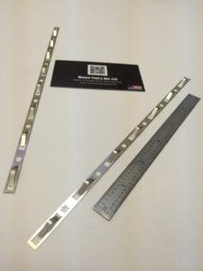 Complex Progressive Die Sheet Metal Component - EMF Shielding