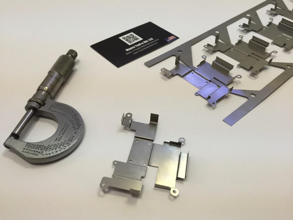 Progressive Sheet Metal Component - EMF RMF Shielding