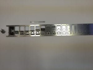 Complex Progressive Die Sheet Metal Component - Clip