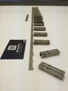 Complex Progressive Die Sheet Metal Component - Connector