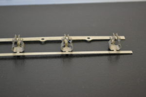 Progressive Die Formed Electrical Clip Component
