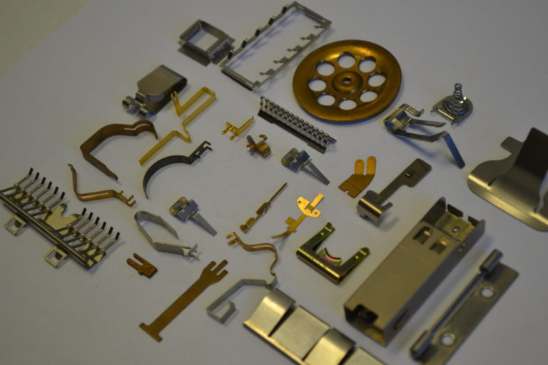 Example Precision Sheet Metal Components